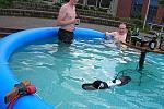 Grillsaison am Pool eröffnet