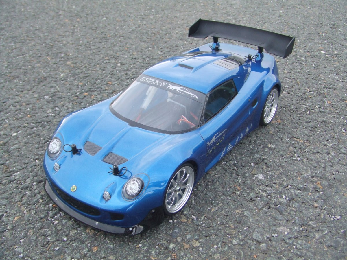 Blue is better – Lotus Elise Sport Rc Car